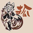Fox tribal tattoo by jccat