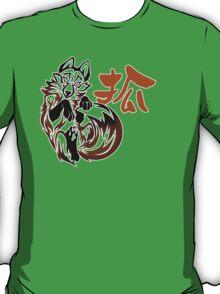 Fox tribal tattoo T-Shirt