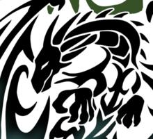 Dragon tribal tattoo Sticker
