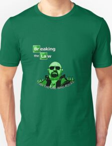 Breaking the Law Unisex T-Shirt