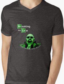 Breaking the Law Mens V-Neck T-Shirt