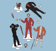 Cut It Out: Ron Burgundy T-Shirt