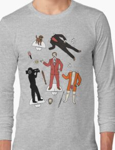 Cut It Out: Ron Burgundy Long Sleeve T-Shirt