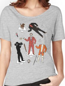 Cut It Out: Ron Burgundy Women's Relaxed Fit T-Shirt