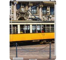 Vintage tram in Milano, ITALY iPad Case/Skin