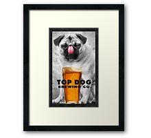 Top Dog Brewing Co. Framed Print
