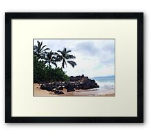 First stop on Maui Framed Print