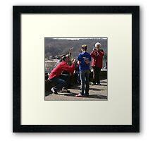 Weekend Photographers Framed Print