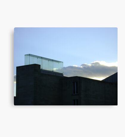 a trap for clouds Canvas Print