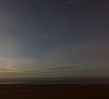 balmedie beach by moonlight (3) by codaimages