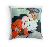 Jules Alexandre Grün Le Rire Embrace Throw Pillow