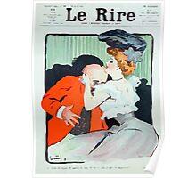 Jules Alexandre Grün Le Rire Embrace Poster