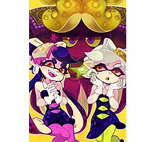 Splatoon - Squid Sisters & Dj Octavio Photographic Print