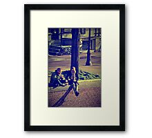 Midday Rendezvous Framed Print