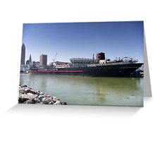 William G. Mather Steamship Greeting Card