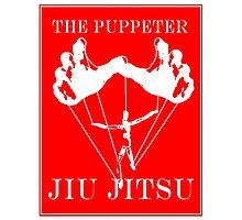 The Puppeteer Jiu Jitsu White  Photographic Print