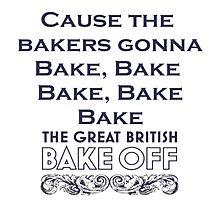 Great British Bake Off Photographic Print