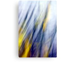 An April Afternoon Abstract Impressionism Canvas Print