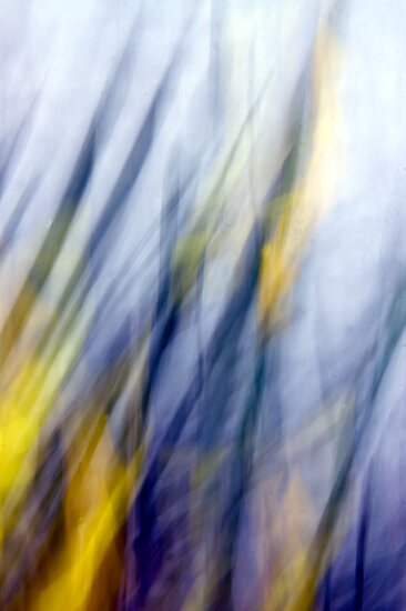 An April Afternoon Abstract Impressionism by MLabuda