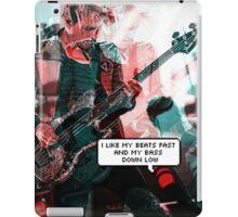 Mikey Way Bass Edit iPad Case/Skin