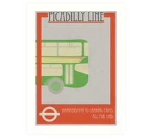 Vintage Transport Print Art Print