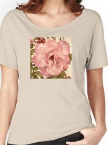 Pink Vintage Rose (s180915pvr) Women's Relaxed Fit T-Shirt