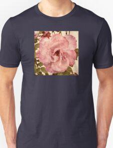 Pink Vintage Rose (s180915pvr) Unisex T-Shirt