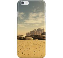 Desert Town Swallowed by the Sand iPhone Case/Skin