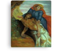 Pieta, after Delacroix Canvas Print