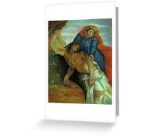Pieta, after Delacroix Greeting Card