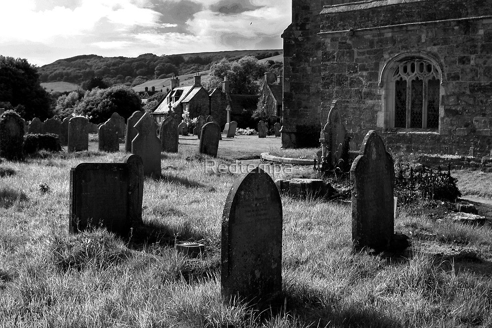 THE CHURCH YARD by Redtempa