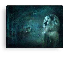 Deep Down... Canvas Print