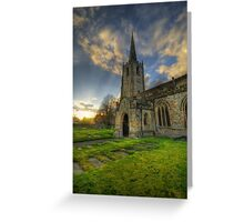 Church Of St. Mary The Virgin  Greeting Card