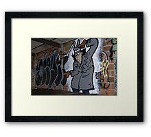 Inspector Spraycan Framed Print