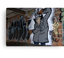 Inspector Spraycan Canvas Print