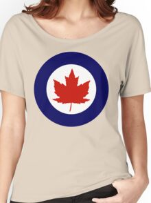 Royal Canadian Air Force Insignia (1946-1965) Women's Relaxed Fit T-Shirt