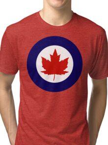 Royal Canadian Air Force Insignia (1946-1965) Tri-blend T-Shirt