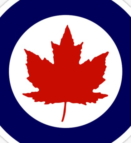 Royal Canadian Air Force Insignia (1946-1965) Sticker