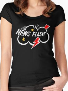 News Flash! Women's Fitted Scoop T-Shirt