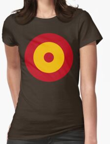Spanish Air Force Insignia Womens Fitted T-Shirt