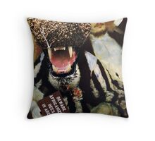 The Bee Keeper. Throw Pillow