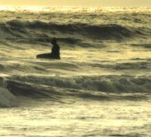 Sunset Surf Sticker