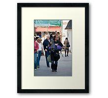 photography fun Framed Print