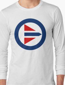 Royal Norwegian Air Force Insignia Long Sleeve T-Shirt