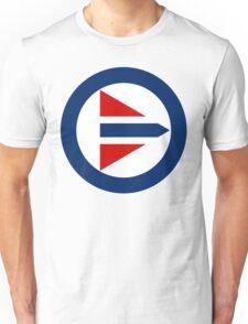 Royal Norwegian Air Force Insignia Unisex T-Shirt
