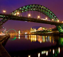 Tyne Bridge - Newcastle by Mark Tomlinson