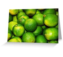 A whole load of lime Greeting Card