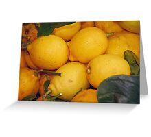 Lemony Basket Greeting Card