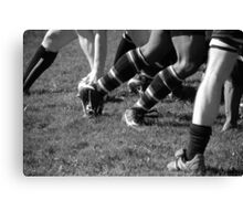 The Line Out Canvas Print