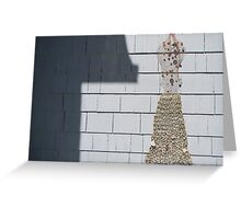 full sun dress with bells on Greeting Card